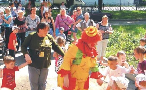 Праздник день защиты детей в колпино